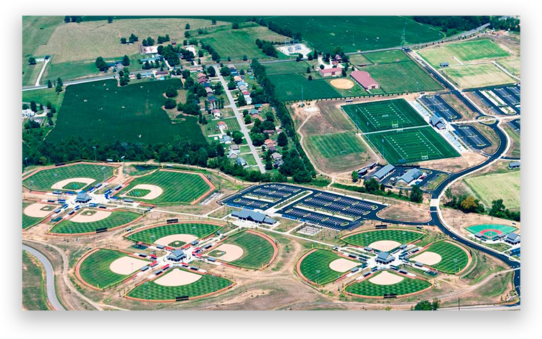 Elizabethtown Sports Complex at Youth Softball Nationals Kentucky Tournament